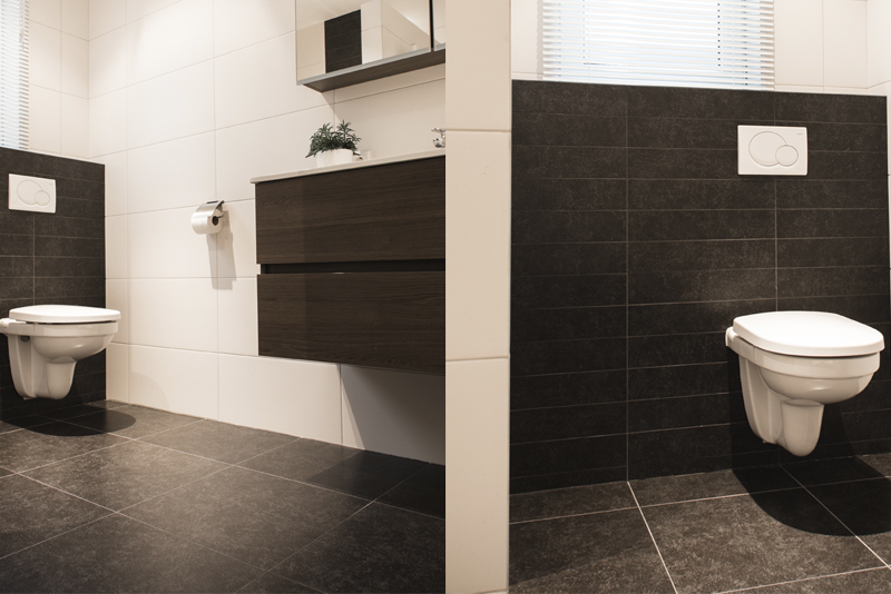 Wand- en vloertegel badkamer, keuken, toilet & hal - Sleja Tegel ...